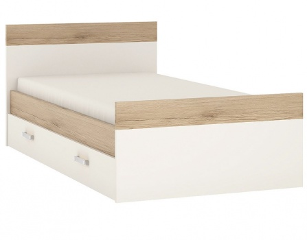 4 Kids Single Bed with Under Drawer